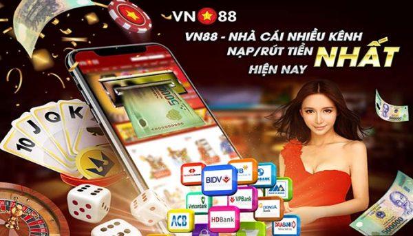 Hướng dẫn toàn bộ 7 cách gửi tiền tại VN88 mới nhất hiện nay