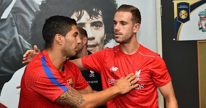 Mối quan hệ đầy mâu thuẫn của Jordan Henderson và Luis Suarez