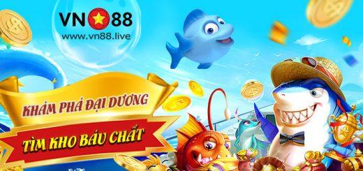 Khám phá đại dương - Khuyến mãi bắn cá VN88