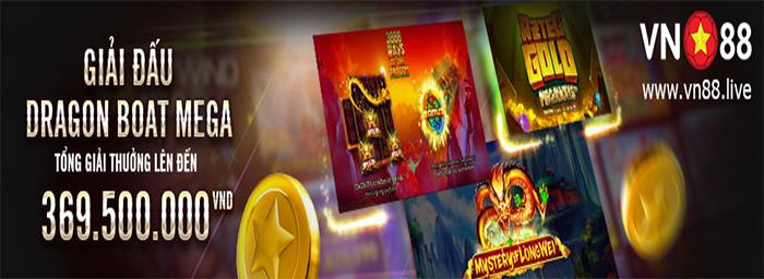 GIẢI ĐẤU DRAGON BOAT MEGA - TỔNG GIẢI THƯỞNG LÊN ĐẾN 369.500.000 VND