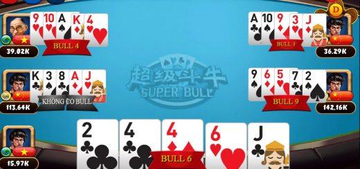 Hướng dẫn chơi game Super Bull tại VN88