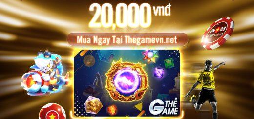 VN88 Ra Mắt Thẻ Game Mệnh Giá 20 Nghìn